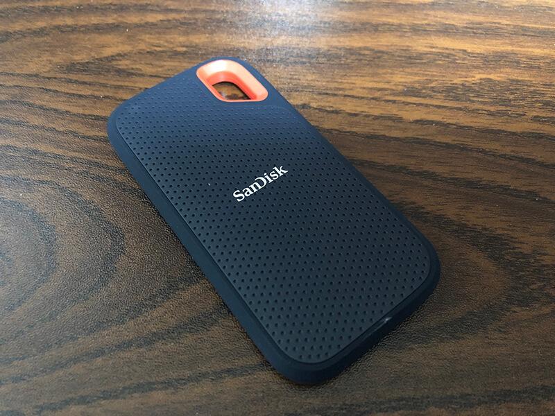SanDisk ポータブルSSD  1TBを試しに購入!