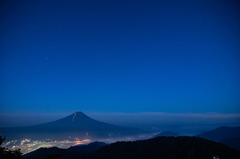 黎明なる富士