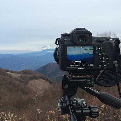 池の茶屋林道・雲海と富士山撮影記録♪