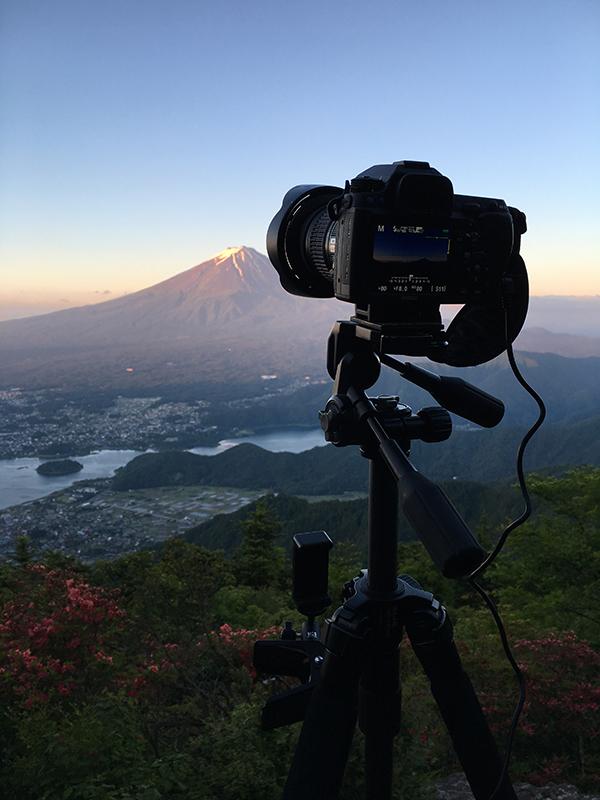 新道峠へ撮影遠征♪