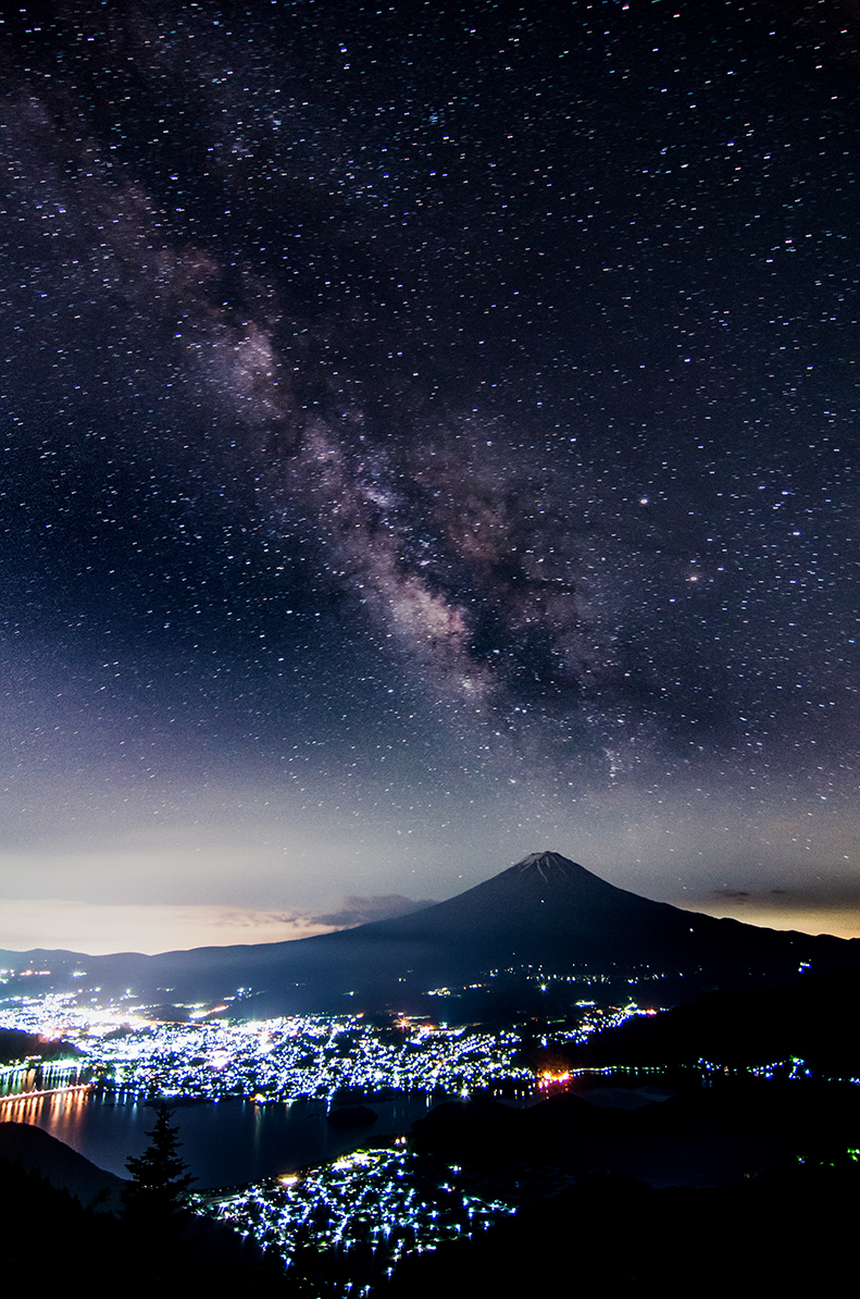天空なる銀河