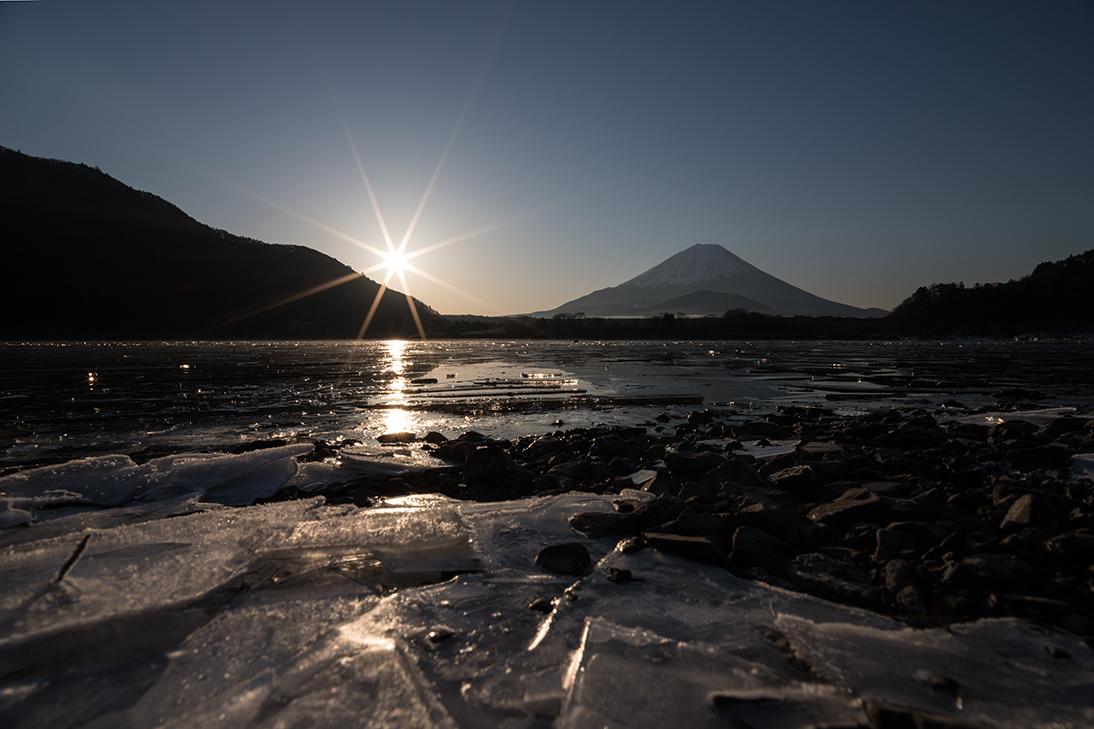 砕氷の輝き
