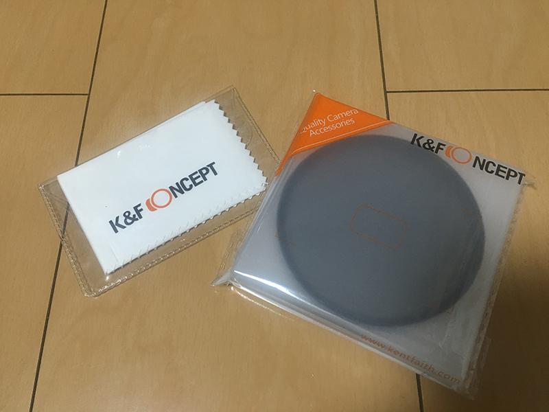 K&F Concept 82mm 超薄型CPL偏光フィルター購入してみた♪